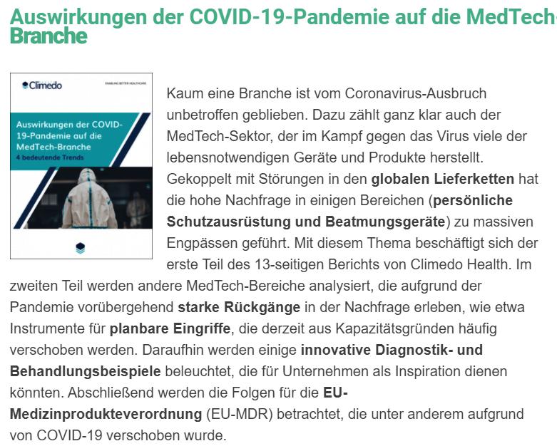 MedTech Herausforderungen 5